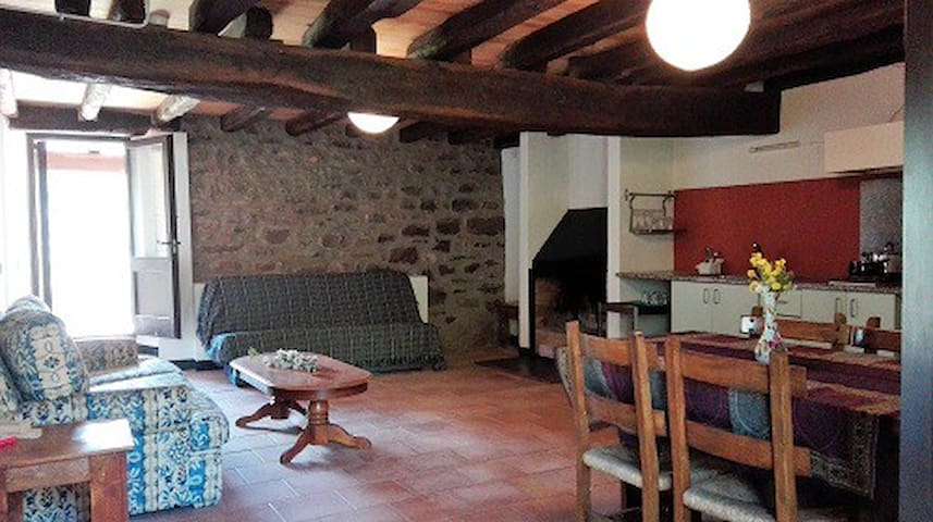 Family apartment in la Garrotxa, El Petirojo - Sant Ferriol - Apartment