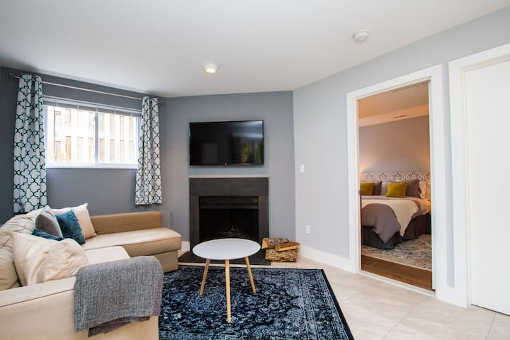 Fully Updated 1 Bedroom Private Apartment