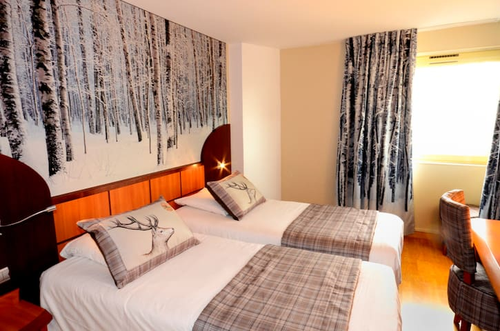 TWIN ROOM WITH BREAKFAST BIO GREEN HOTELS PARIS