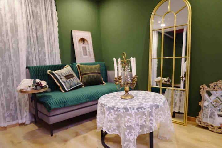 胡同小院里的绿房子Loft五道营鼓楼南锣鼓巷簋街雍和宫11.20后可月租