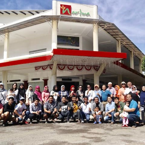 Narima Hotel Lembang - Lokasi strategis