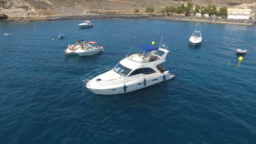 Luxury Yacht @ Costa Adeje Tenerife - Costa Adeje - Barca