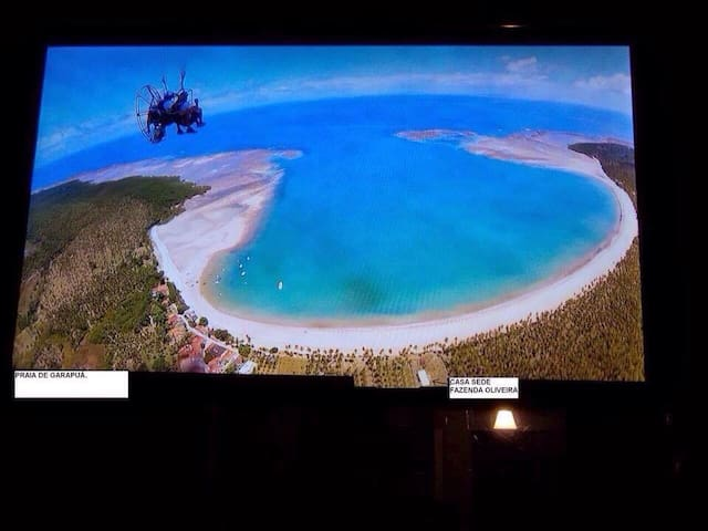 Garapuá, paraíso, casa frente praia - Cairu - Ev