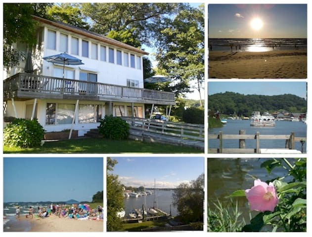 3 Bedroom Waterfront Panaramic View - Saugatuck