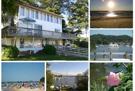 3 Bedroom Waterfront Panaramic View - 소가턱(Saugatuck) - 아파트