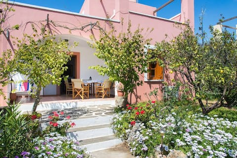 Zefiros House - Walk To Beach - AC WIFI