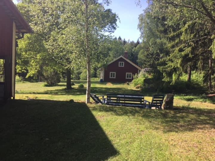 Summerhouse, old swedish style