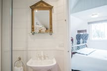 Your bathroom ensuite with Spa bath for 2 and complimentary Australian made all natural body care products and bath salts.