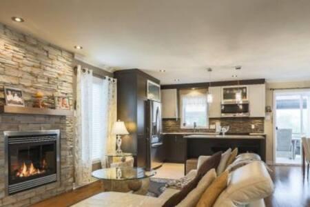 Magnifique logement au gout du jour sur 3 niveaux.