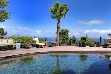 Heated Lava Stone Pool, Lush Tropical Garden, Alfresco Dining, Lounging Areas, Free Wifi