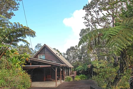 Uliuli House at Volcanoes Natl Park - Volcano - House