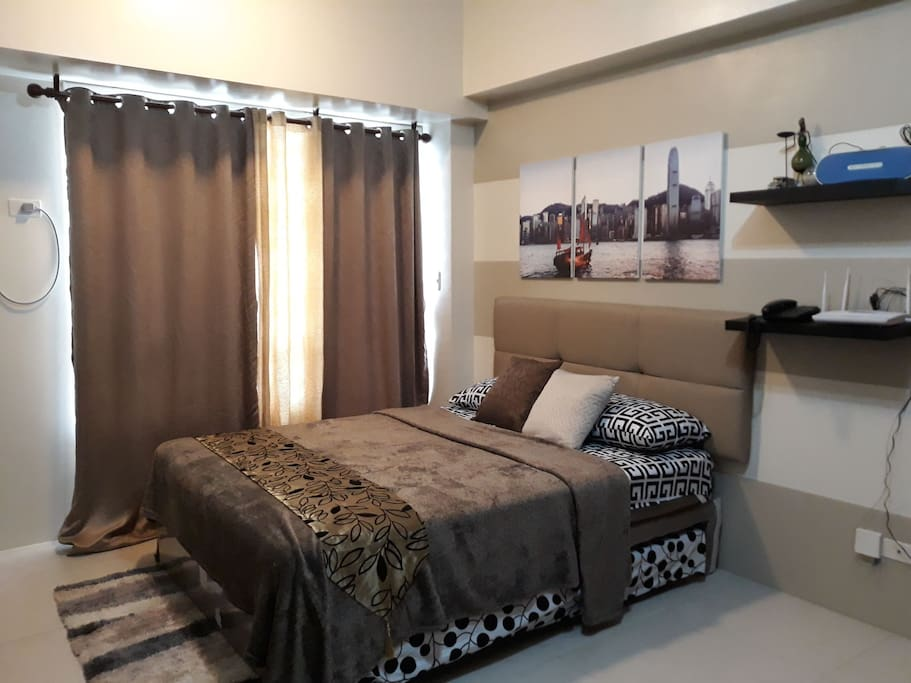 with pull out bed (double size) (max 4 guests)