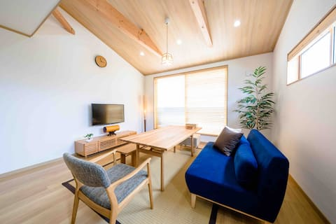 【FUJI-AKATSUKI-KUU-】Luxury stay!6 mins to the sta.