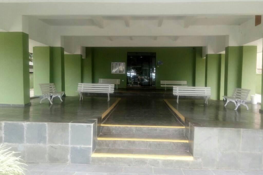 entrada de visita do prédio