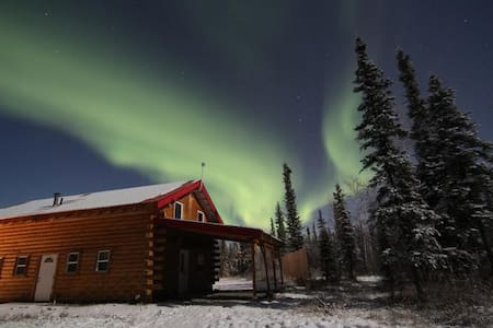 Alaska Aurora Adventures Cabin  B - North Pole - Rumah