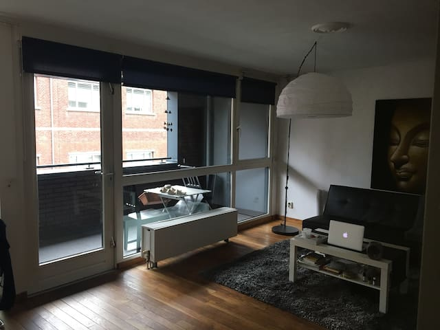 Convenient, clean apartment downtown/station area - Tilburg - Apartament