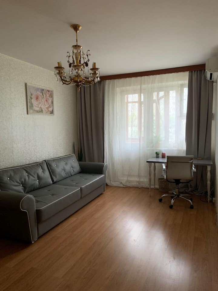 Уютная квартира у м.Братиславская,30 мин до центра