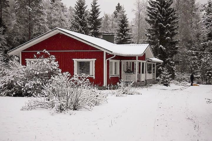 A nice house for relaxation - Lake Pielinen