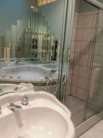 Progressive Jacuzzi Tub  master and bedroom