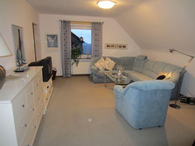 Ferienwohnung Riedel (Winterberg/Stadt) -, 2-Zimmer Ferienwohnung mit Balkon und WLAN