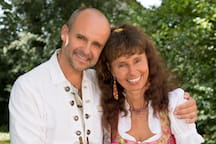 Gastgeber Pia und Bernhard Füß