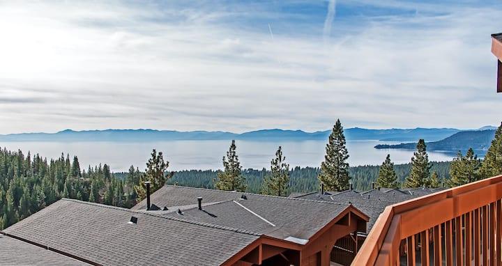 Luxury Lake View Mountain Chalet - Incline Village