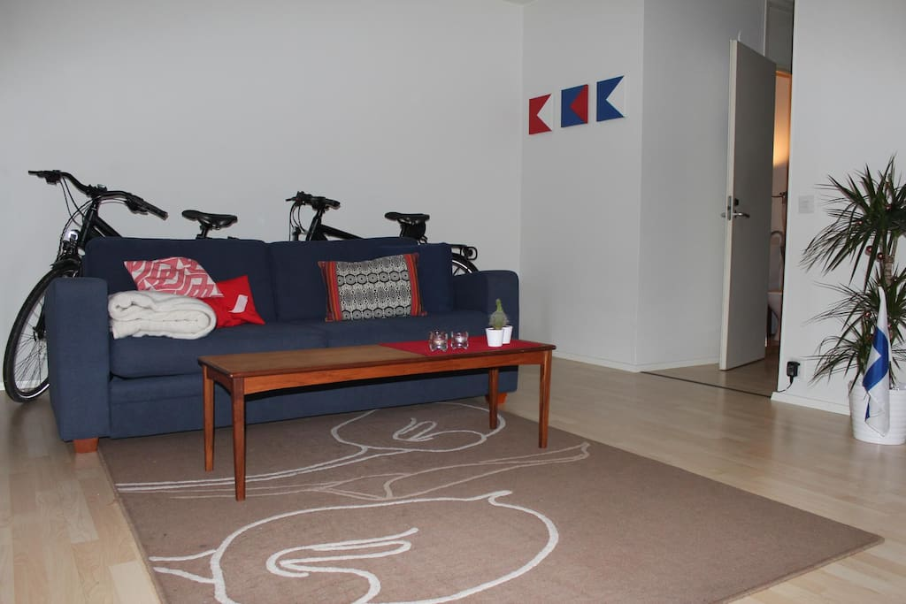 Livingroom incl. sleepingcouch