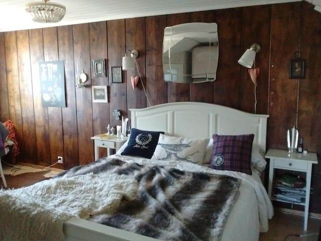 Shabby chic room in a period house in central area - Tampere - Ev