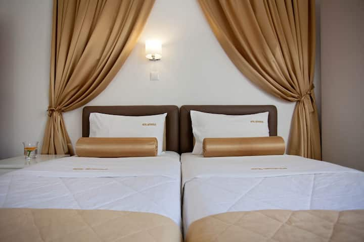 Standard Double Room with private shower & Balcony