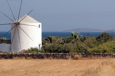 Rustic windmill sourrounded by an olive grove - Antiparos - 獨棟