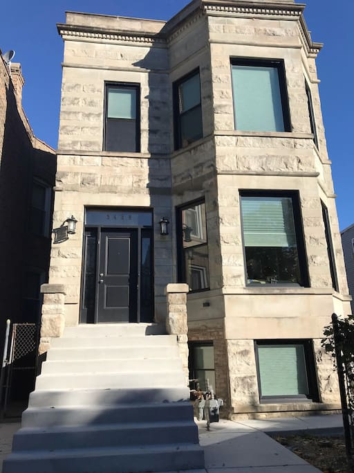 Our Classic Chicago GreyStone Home