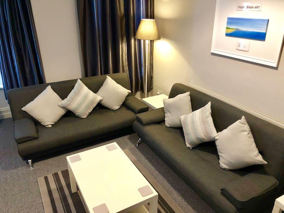 2 single sofa beds