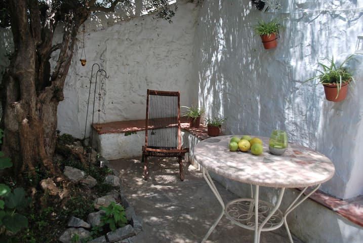 Casa Lluvia, Townhouse with idyllic shaded patio - Cómpeta - House