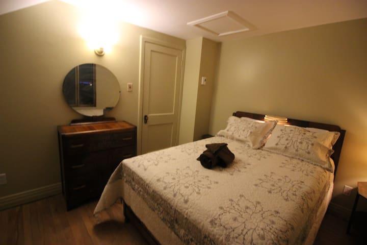 Ma Chaumière au Québec, chambre de André
