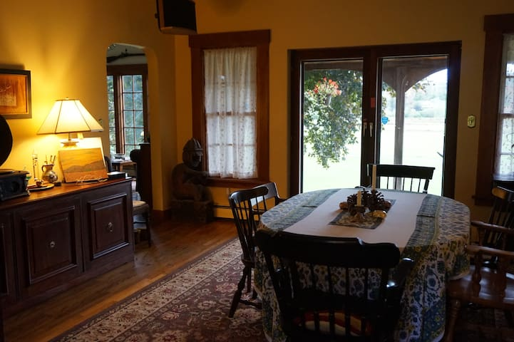 Dining Area off the porch
