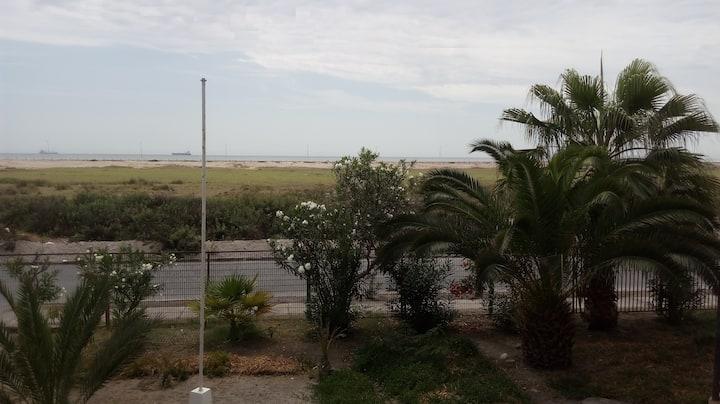 Departamento con vista a playa Chinchorro