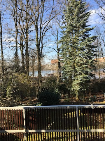 A room with a view & close to Nürnberg Fair/Messe