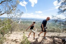 Many brilliant walking and bike trails through Canberra