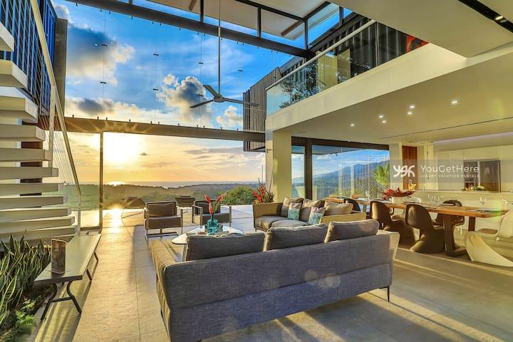 Introductory Rates Contemporary Unique Villa