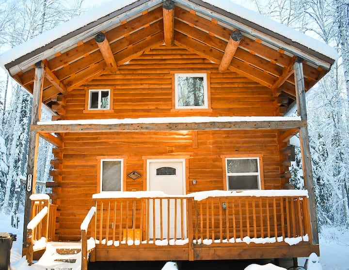 Comfy/Private Alaskan Style Cabin #2