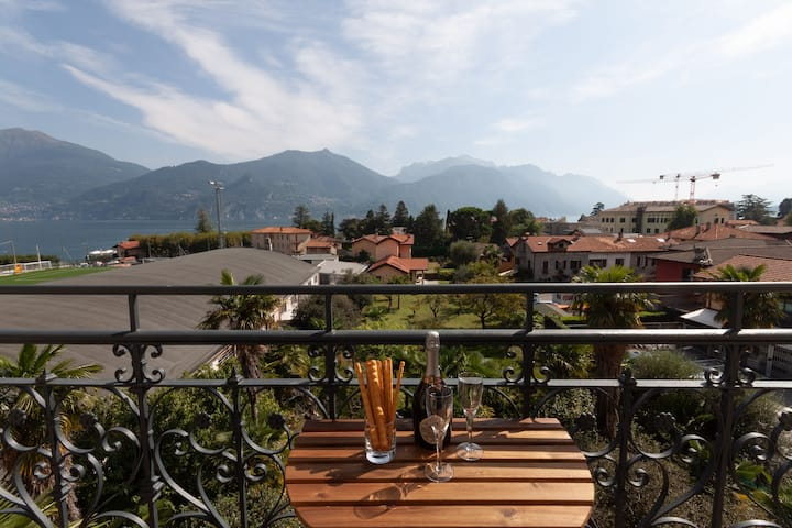 Breva - apartment in Menaggio, sleeps 4 with lake view