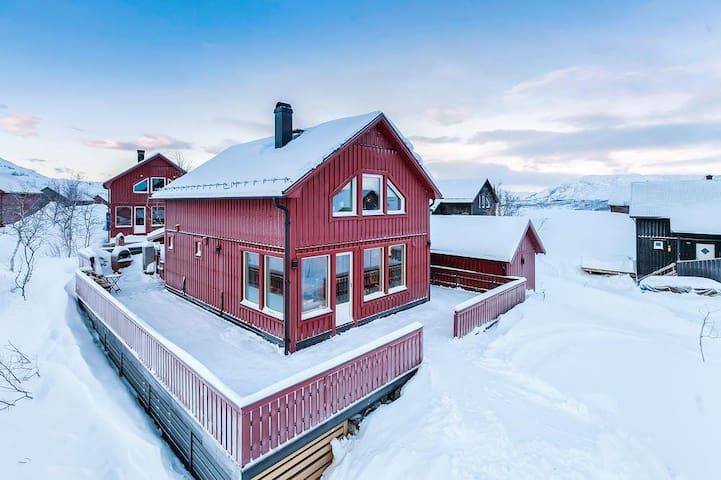 RIBO Apartment Katterjokk Odon 7 - Riksgränsen - Blockhütte