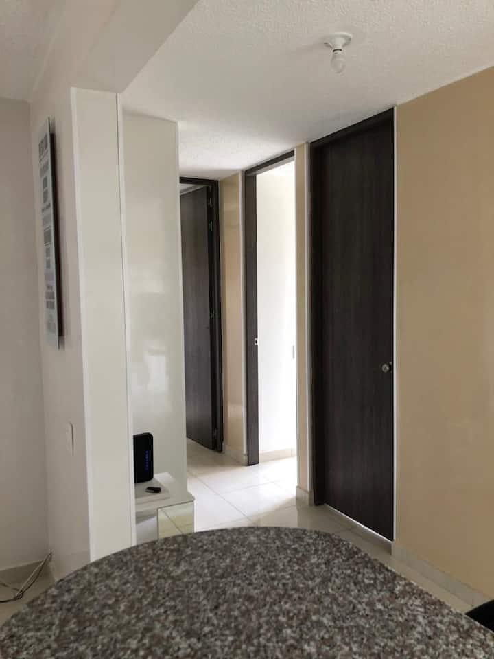 Acogedor apartamento nuevo  - Wifi- parqueadero