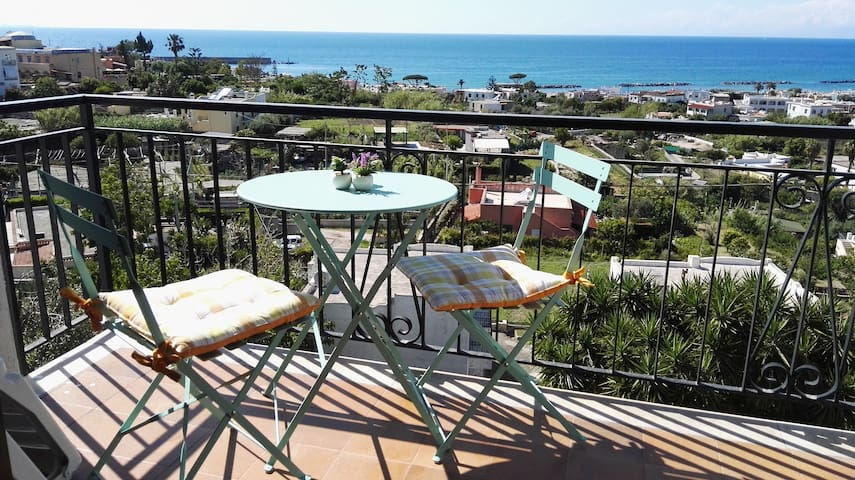 Forio Charming flat stunning sea view