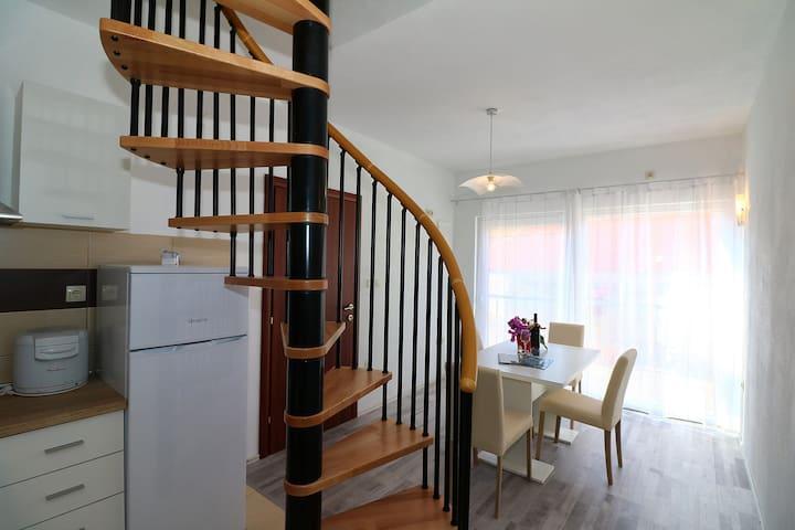 Accomodation Antonio, apartment for four persons - Jezera - Lägenhet