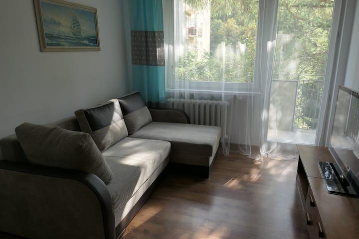 Przytulny apartament w spokojnej dzielnicy Sopotu