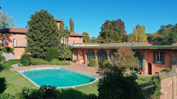 B&B Villa Bodo-Sommariva | Suite Fontex |