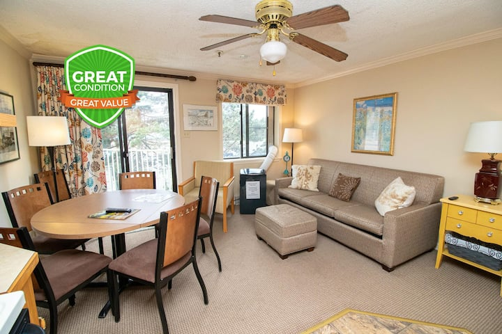 Great 4 Couples Close to Village & Lift Wi-Fi Gated Parking ML229