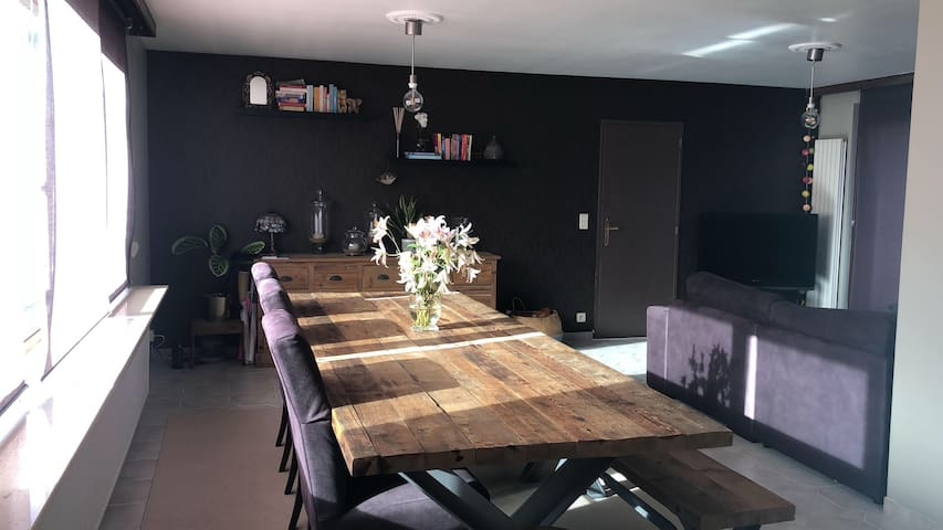 Cosy apartment near the central station in Antwerp