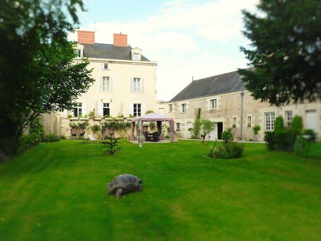 Grande Maison XIXème avec parc arboré - Les Ponts-de-Cé - 一軒家